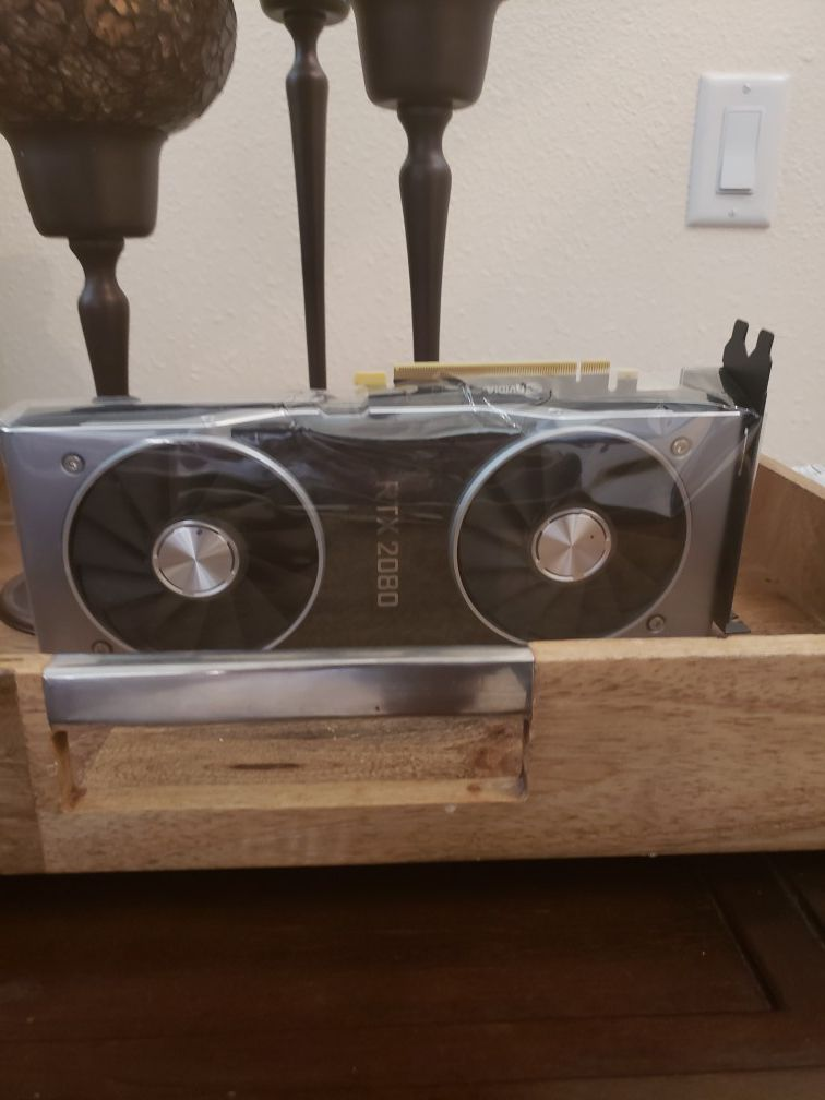 Nvidia rtx 2080 founders edition brand new