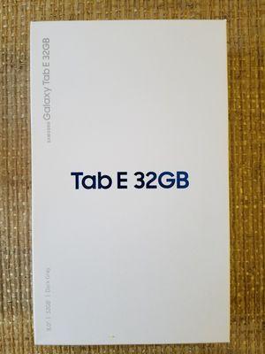 Samsung Galaxy Tab E 32gb Cellular +wifi Verizon for Sale in Gaithersburg, MD