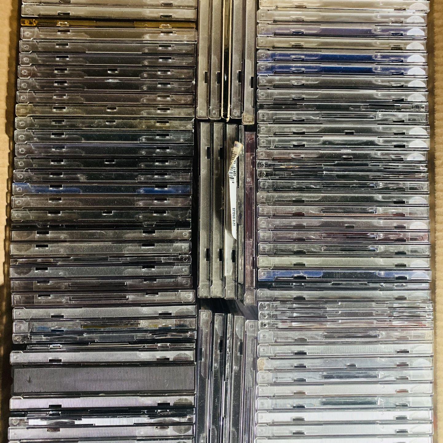 CD Cases, 100 Empty Cases. Free!
