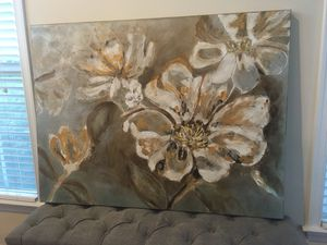 Large flower picture for Sale in Aldie, VA