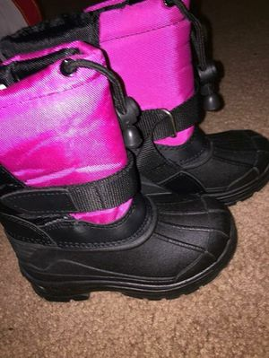 Toddler Pink Size 7 Snow Boots for Sale in Washington, DC
