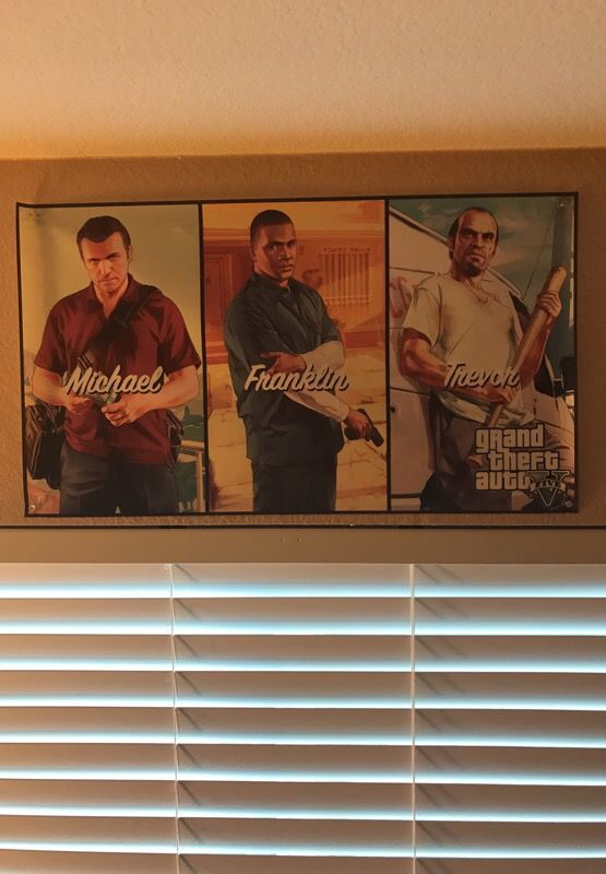 Grand theft auto poster for Sale in Oceanside, CA - OfferUp