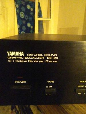 Yamaha graphic equalizer GE 20 model number for Sale in Indianapolis, IN -  OfferUp