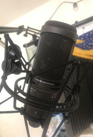 Audio-Technica AT2020USB CARDIOID CONDENSER MIC for Sale in Chester, VA