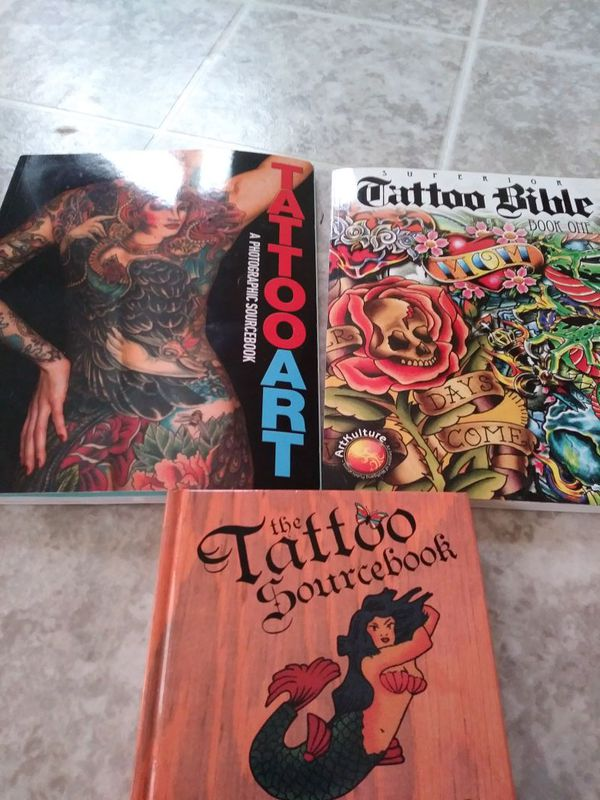 4 tattoo books for Sale in Roanoke, VA - OfferUp