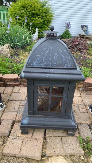 Photo Outdoor wood burner