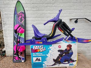 Kids snow toys for Sale in Dulles, VA