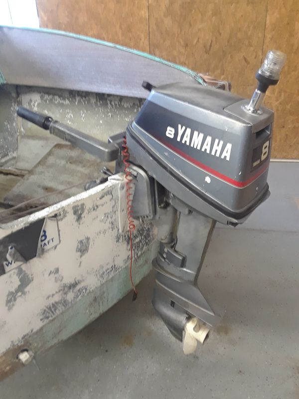 Yamaha 8hp 2 stroke outboard for Sale in Amherst, OH - OfferUp