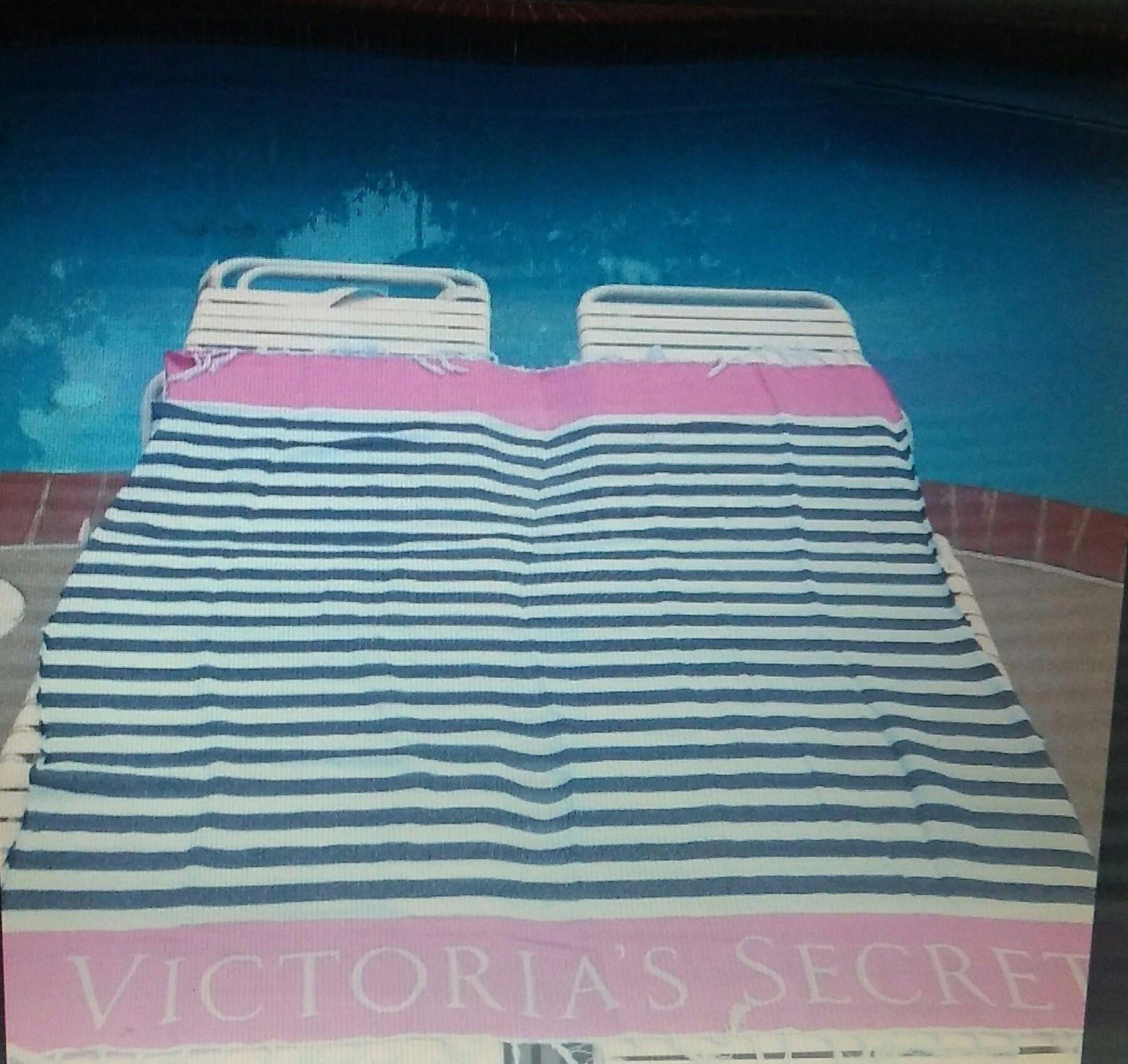 Victoria's Secret blanket.