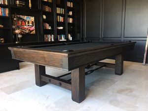 Pool Table Ft Brunswick Brixton Brand New Lifetime Warranty Same - Restoration hardware pool table