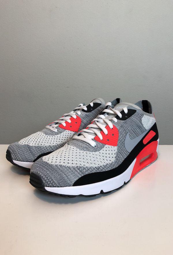 "60ab0c7dd72abe Nike Air Max 90 ""Flyknit Infrared"" sz 12 for Sale in Portland"