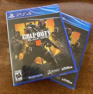 Call of Duty Black Ops 4 IV *BRAND NEW & SEALED* PlayStation 4 PS4 5 STAR REVIEWED SELLER!! for Sale in Lakewood, CA