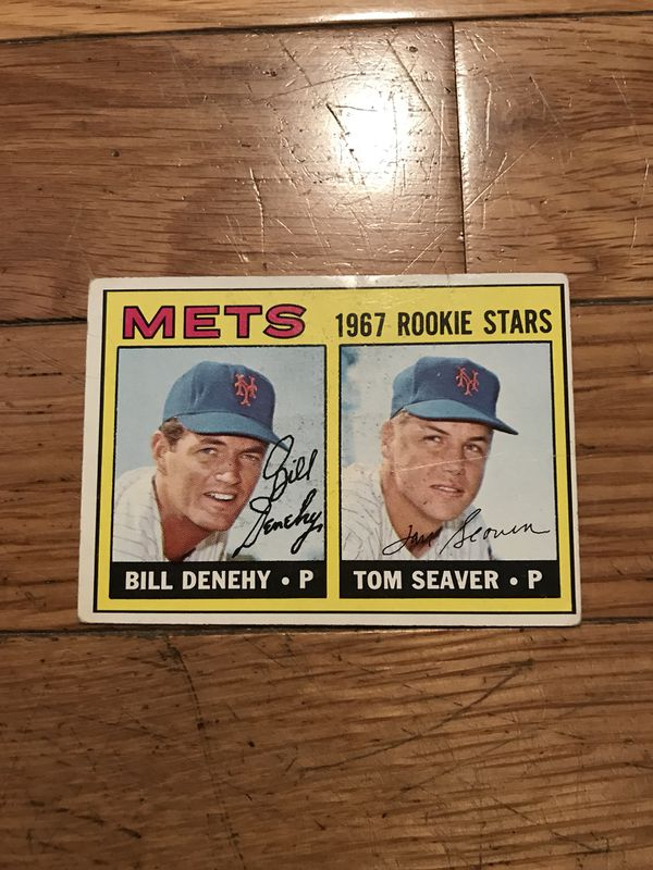 1967 Topps Tom Seaver Rookie Baseball Card For Sale In Boston Ma Offerup