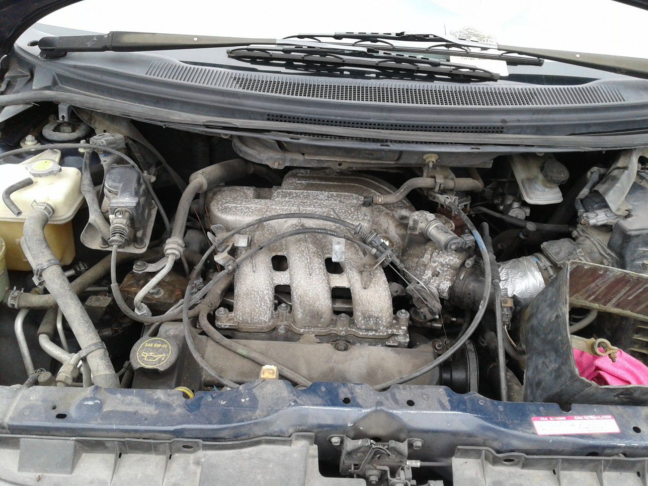 2002 Mazda mpv 3.0 motor for parts only new inventory