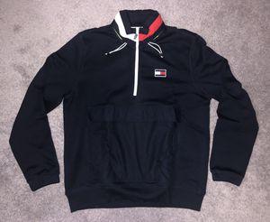 Tommy Hilfiger Sailing Windward 1/4 Zip Hooded Sweatshirt Vintage Pullover Flag Kith for Sale in Rockville, MD
