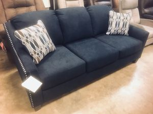 Photo New Navy Blue Sofa 🔥🔥 AVAILABLE NOW