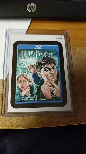 Photo 2011 Wacky Packages Go to the Movies Harry Popper Sticker card #3 of 8