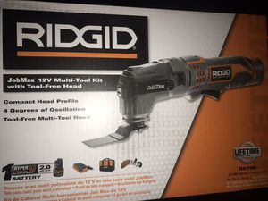 Photo Ridgid multi-tool