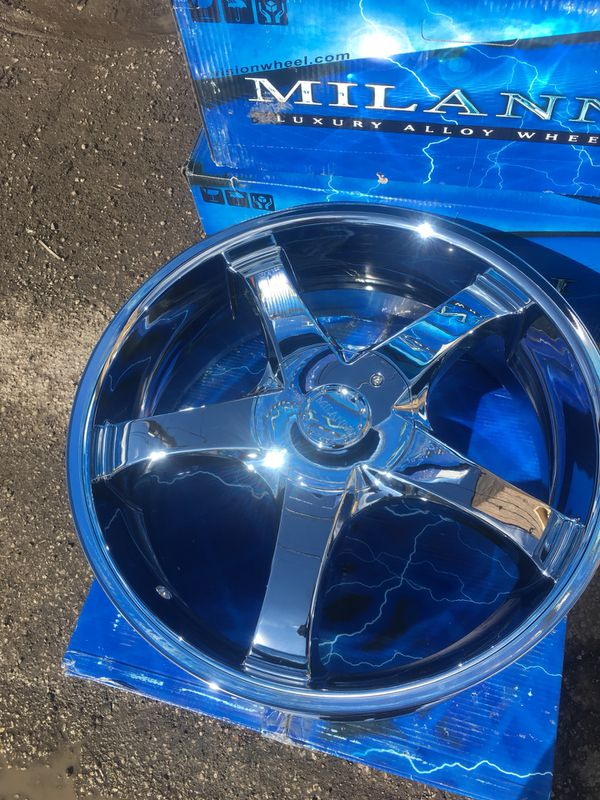 """New 22"""" wheels and tires 22 inch rims for Sale in Cicero, IL - OfferUp"""