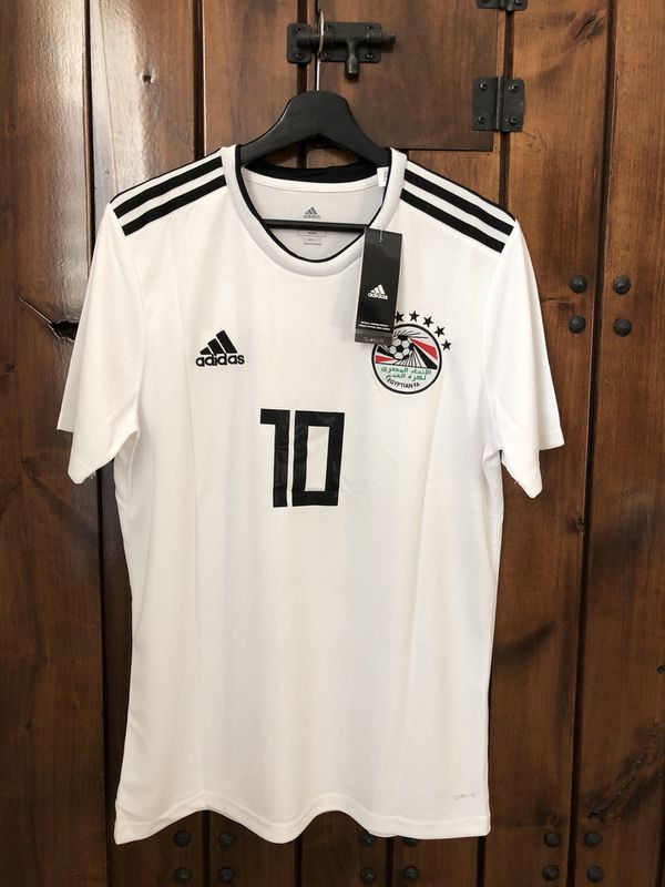 Egypt salah away soccer jersey World Cup 2018 for Sale in Plano 891334bb9