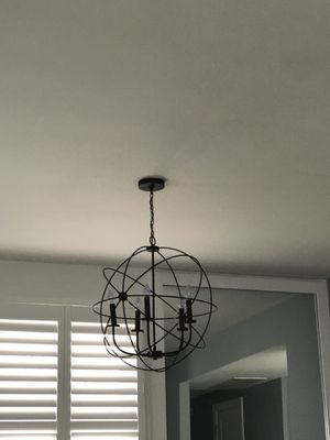 Hanging light fixture for Sale in Washington, DC