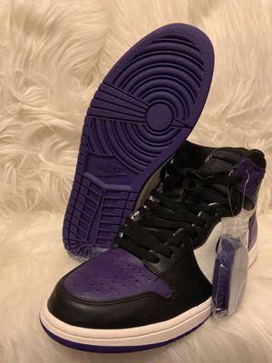 4a4bd02e924fd0 Air Jordan 1 retro- Court purple for Sale in Des Moines