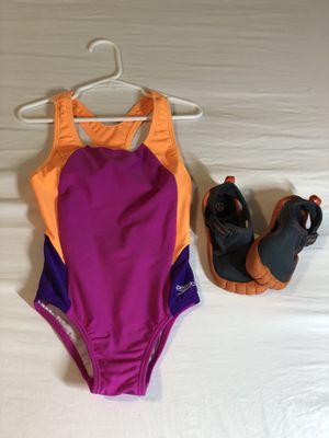 Speedo Swimsuit (7) & Shoes for Sale in Alexandria, VA