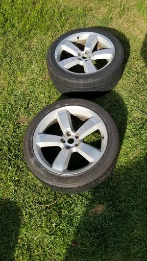 Photo Two Dodge Charger SRT8 Rims/Tires