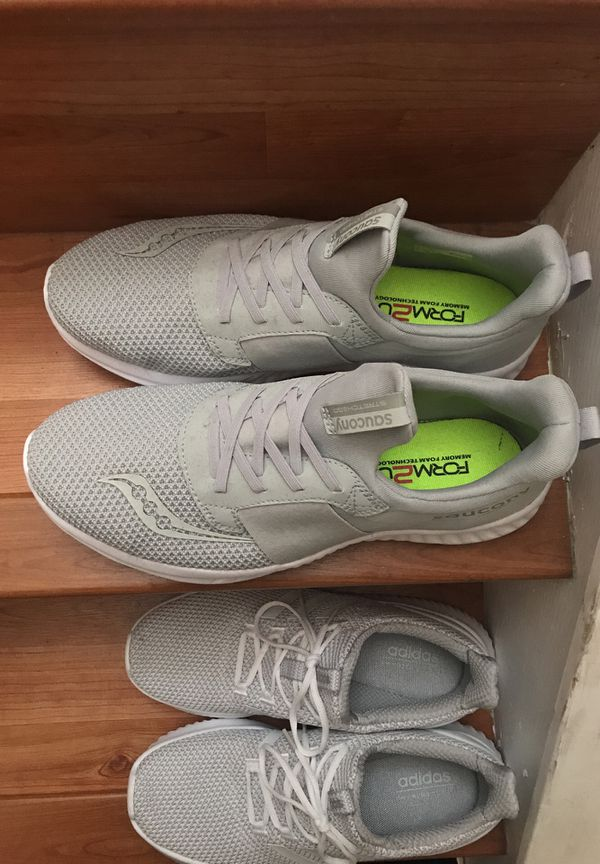 reputable site 33d1c 66d83 White adidas soaucony shoes (size 10) (Clothing   Shoes) in Miami, FL -  OfferUp