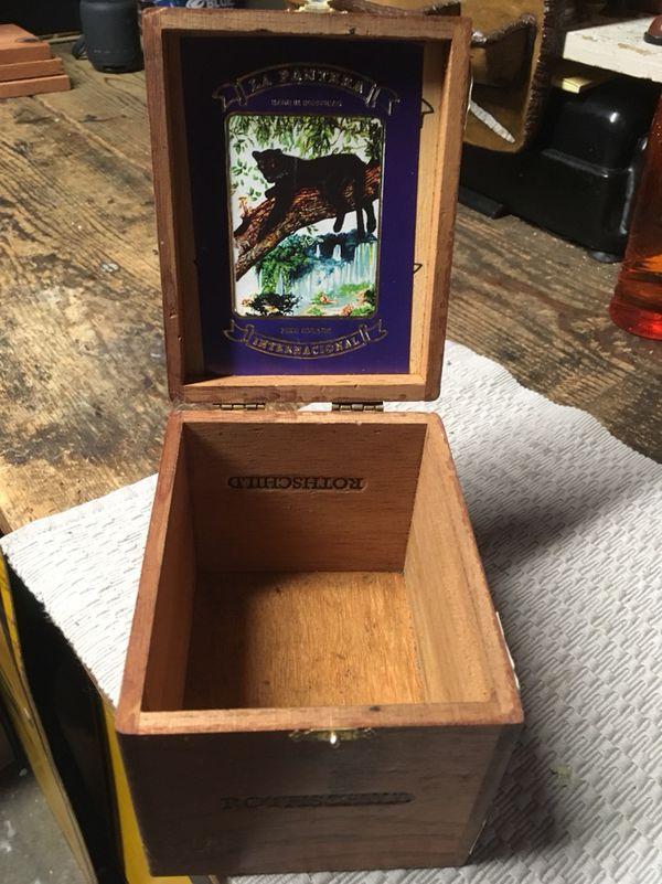 Vintage Wooden Cigar Box For Sale In San Jose Ca Offerup