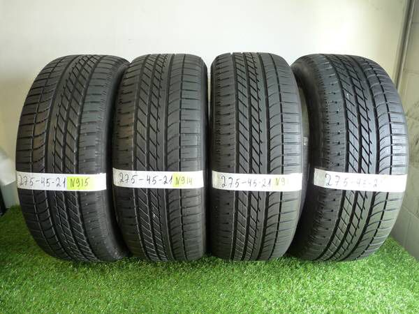 Used Tires Orlando >> 275 45 21 Goodyear Eagle F1 Range Rover 4 Used Tires For Sale In
