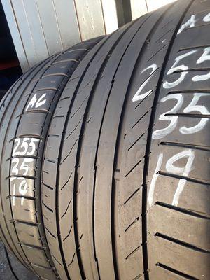 255/35-19 #2 Tires for Sale in Alexandria, VA
