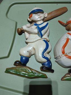 collectible metal baseball figures Thumbnail