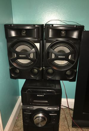 Sony Mini Stereo for Sale in New Hill, NC