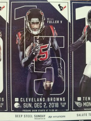 TEXANS SEASON TICKETS for Sale in Houston, TX