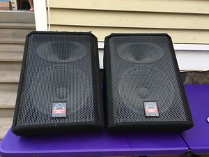 "Pa speakers (12"" monitors) for Sale in Seattle, WA"