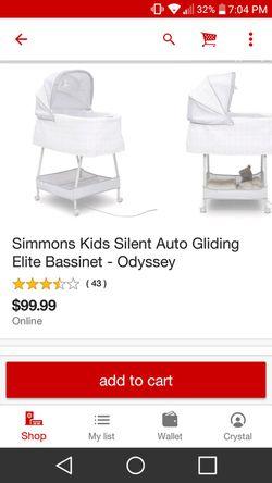 Simmons Elite Bassinet Thumbnail