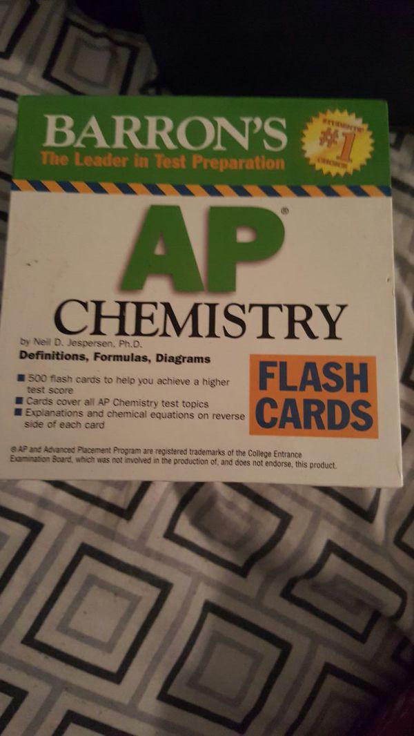 barrons ap chemistry flash cards