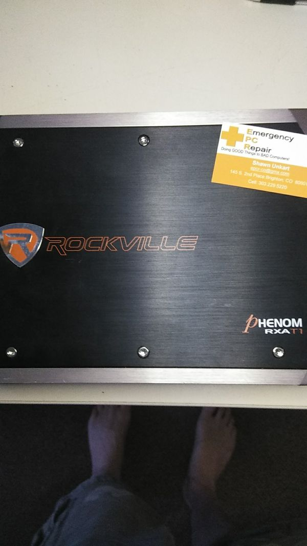 Rockville Phenom RXA T1 2 channel amp for Sale in Brighton, CO - OfferUp