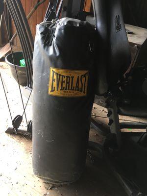 Everlast punching bag for Sale in Upperville, VA