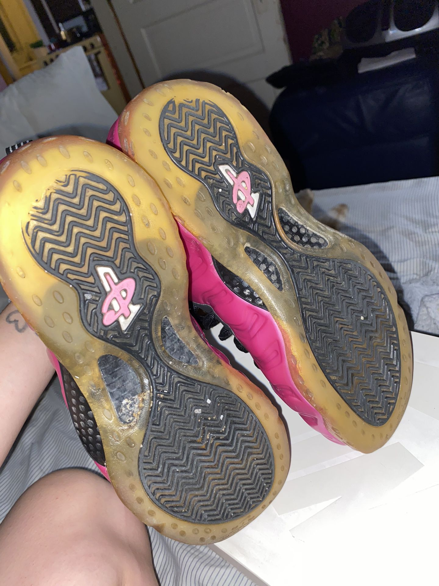 Pearlized Pink Foams
