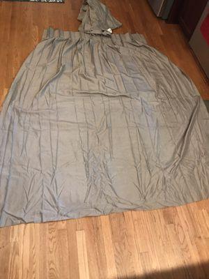 Beige blackout curtains for Sale in Burke, VA