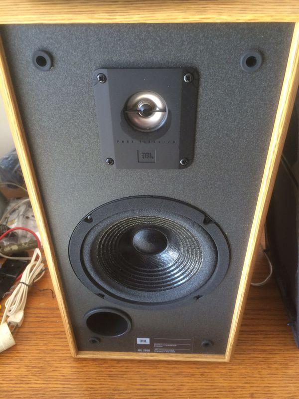 JBL 2600 Speakers for Sale in Charleston, SC - OfferUp