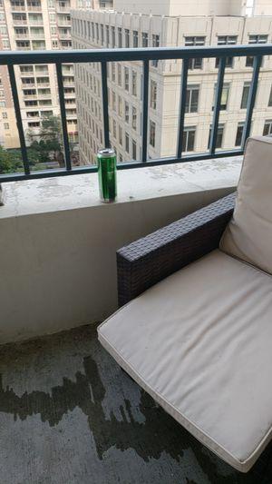 Balcony set. Will sell separates for Sale in Arlington, VA