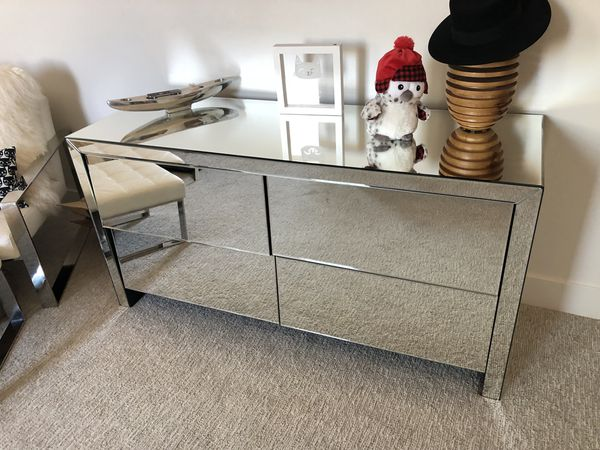 Valentino Mirrored dresser-modani for Sale in Las Vegas ...