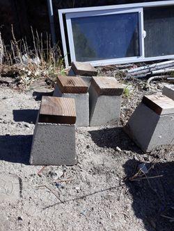 Torres De Concreto Para Levantar Postes $20 Por Los 5 Thumbnail