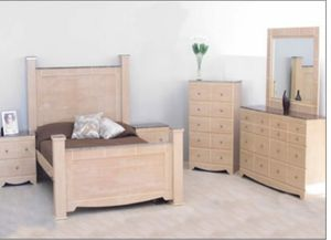 Bed, Dresser, Mirror, Chest & Nightstand (Financing Available NO CREDIT CHECK NEEDED) for Sale in Woodbridge, VA