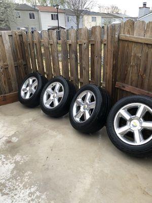 "Photo Chevy Silverado wheels OEM 20"""
