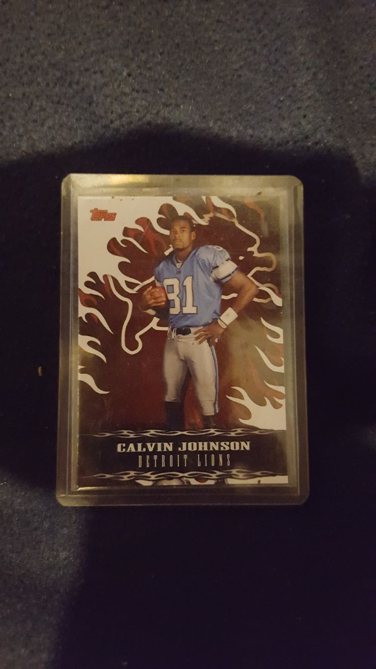 Calvin Johnson draft pick Detroit lions ment .obo