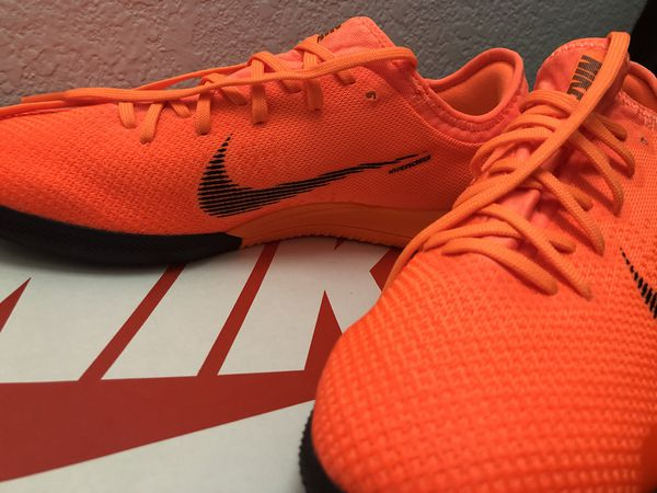 00cfd58b76de Nike MercurialX Vapor 12 Pro IC Indoor Soccer Shoes AH7387-810 Men's US 7.5